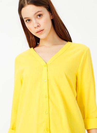 Limon Company Limon Sarı Gömlek Sarı
